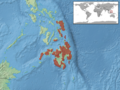 Draco ornatus distribution.png