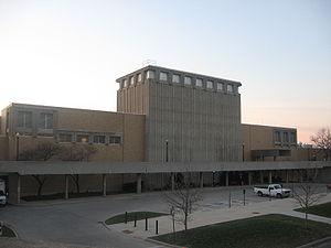Drake Performance and Event Center - Drake Center shown here on the West Campus of The Ohio State University