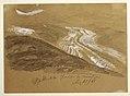 Drawing, Aletsch glacier by moonlight, Bernese Alps, Switzerland, August 28, 1868 (CH 18198865).jpg