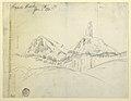 Drawing, Lizard Head, Colorado, January 8, 1893 (CH 18189899).jpg