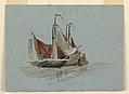 Drawing, Sketches. Fishermens' Sail Boats, 1872 (CH 18368989).jpg