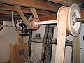 Drive Shaft and Belts, Redbournbury Mill - geograph.org.uk - 1561148.jpg