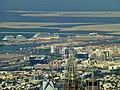 Dubai - View from the Burj Khalifa - Port Rashid - Deira Islands - المنظر من برج خليفة - ميناء راشد - جزر ديرة - panoramio.jpg