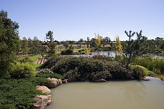 Dubbo - Japanese garden in Dubbo