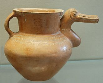 Ziwiye hoard - Duck vase, Louvre