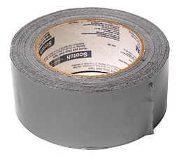 Duct Tape, By Evan-Amos, via Wikimedia Commons
