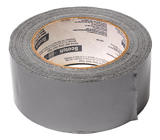 Duct tape type of adhesive tape