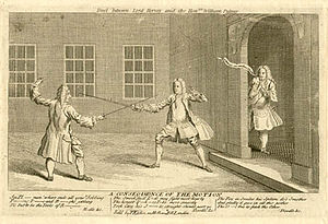Duel - Dueling remained highly popular in European society, despite various attempts at banning the practice.