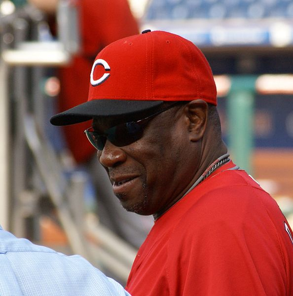 File:Dusty Baker talking before game.JPG
