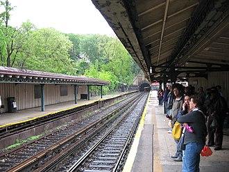 Dyckman Street (IRT Broadway–Seventh Avenue Line) - Image: Dyckmanirtplatjeh