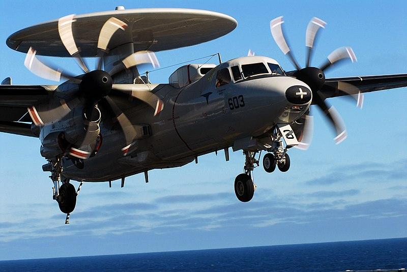 File:E-2C Landing.jpg