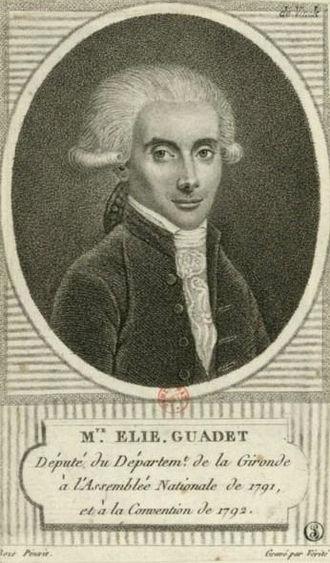Marguerite-Élie Guadet - Image: E. Guadet