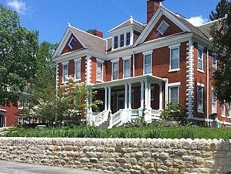 Wise, Virginia - Historic E. M. Fulton House on West Main Street