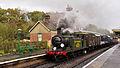 E4 class 473 at Kingscote railway station.jpg