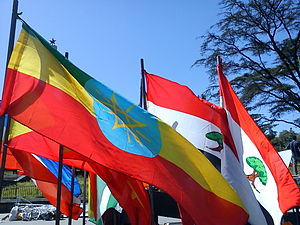 Flags of the regions of Ethiopia - Image: ET Ethiopian flags