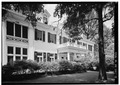 EXTERIOR, EAST SIDE - James Buchanan Duke House, 400 Hermitage, Charlotte, Mecklenburg County, NC HABS NC,60-CHAR,1-15.tif
