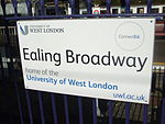 Ealing Broadway stn mainline signage 2012.JPG