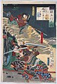 Earth- Akashi Gidayu Races to Kyoto during the Battle of Amagasaki LACMA M.84.31.233.jpg