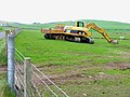 Earth moving down on the farm - geograph.org.uk - 164840.jpg