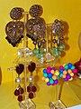 EastEnders Pat Butcher's earrings (26865040863).jpg