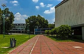 East end of Las Islas, Ciudad Universitaria, Mexico City.jpg