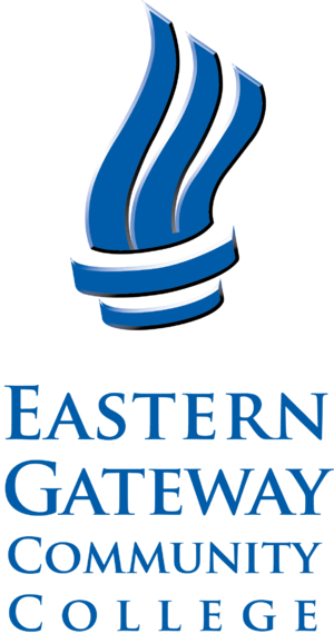 Eastern Gateway Community College - Image: Eastern Gateway Community College Logo Sm Vert