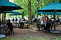 Easton Lodge Gardens, Little Easton, Essex, England outdoor café 08.jpg