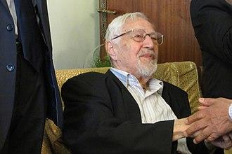 Ebrahim Yazdi - Ebrahim Yazdi in his last Norouz in 2017