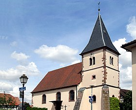 Temple protestant d'Eckwersheim.