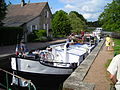 Ecluse n.13 de Mingot ,versant Loire du canal du nivernais.JPG