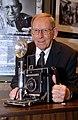 Ed Westcott with Speed Graphic Camera 2005 Oak Ridge (26022378508).jpg