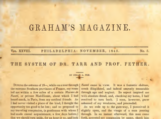 The System of Doctor Tarr and Professor Fether Dark comedy short story by Edgar Allan Poe