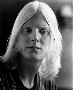 Edgar Winter nel 1974.