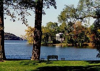 Michael Middleton Dwyer - Garden Pavilion on the Hudson River