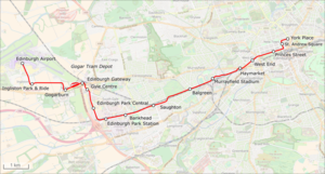 Edinburgh Trams Map.png
