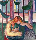 Edvard Munch - Vampire in the Forest (1916-18).jpg