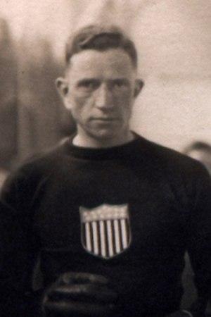 Edward Fitzgerald (ice hockey) - Fitzgerald at the 1920 Olympics.