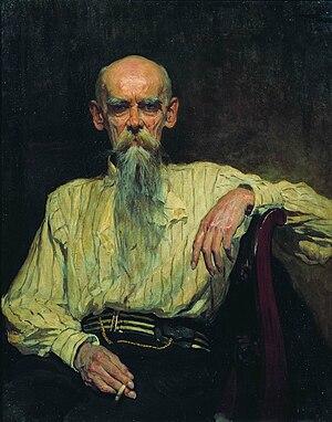 Yefim Volkov - Yefim Volkov (1914),  by Aleksandr Makovsky