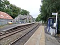 Eggesford railway station, Tarka Line, South Devon - view towards Crediton.jpg