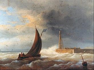 Broel Museum - Image: Egide Linnig Entering the harbour