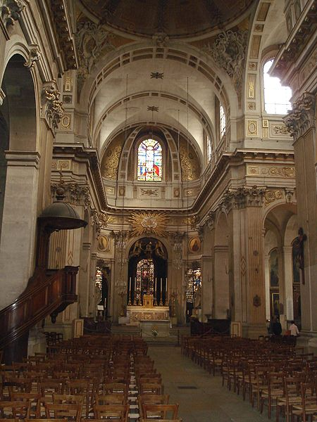 File eglise st louis en l ile inside the church jpg for L interieur inside