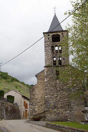 Caussou - The church in Caussou