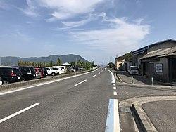 Ehime Prefectural Road No.51 near Sakari Port 4.jpg