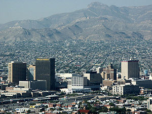 El Paso, the sixth most populous city.