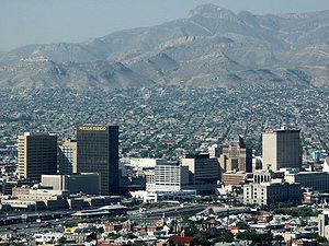 El Paso County, Texas - Image: El Paso Skyline