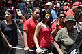 El pueblo venezolano acompañó los restos de su presidente Hugo Chávez Frías en la Academia Militar (8539063112).jpg