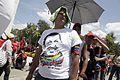 El pueblo venezolano acompañó los restos de su presidente Hugo Chávez Frías en la Academia Militar (8540710524).jpg