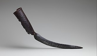 War elephant - Elephant sword, also called tusk swords, from India, are pairs of blades specially designed to be attached to their tusks.