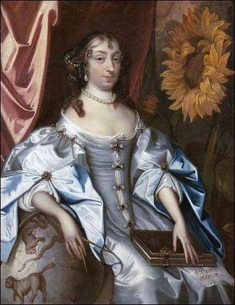 Elizabeth Claypole - Elizabeth Claypole by Jacob Huysmans (c. 1680), Chequers