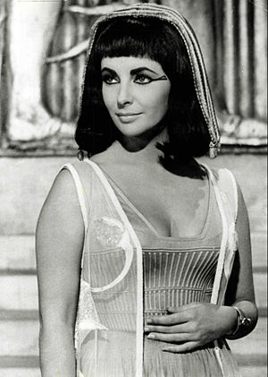 Cleopatra (1963 film) - Taylor as Cleopatra.